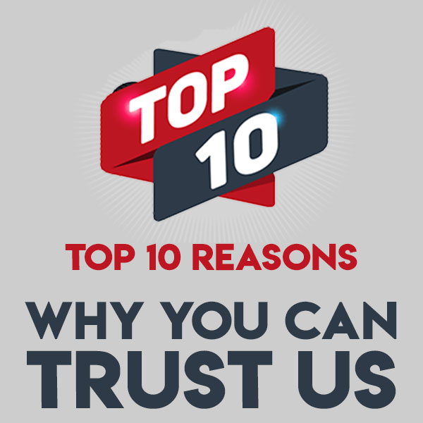 why you can trust us